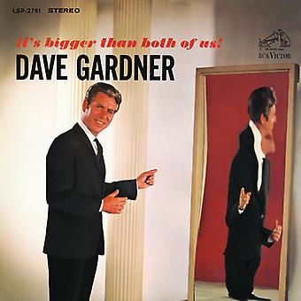 Dave Gardner - It's Bigger Than Both of Us [CD] USA import