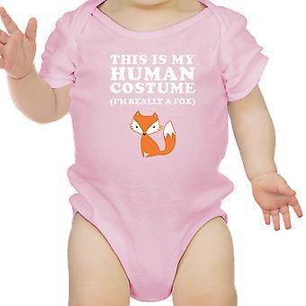 This IS My Human Costume Halloween Baby Bodysuit Funny Infant Bodysuit