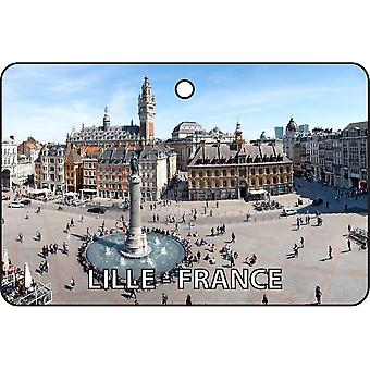 Lille - France Car Air Freshener