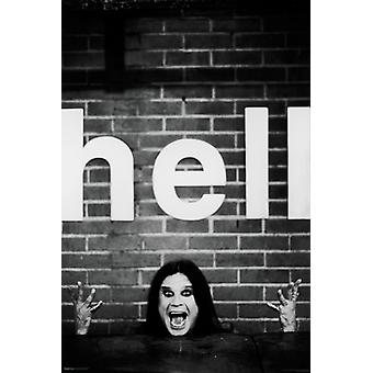 Ozzy Osbourne - Hell Poster Poster Print