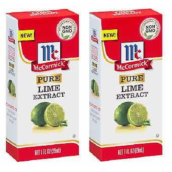 McCormick pure Lime extract 2 flacon Pack