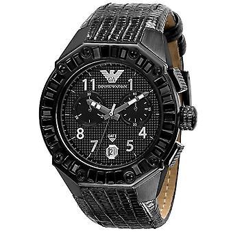 Emporio Armani Unisex Watch Mens Sport Watch con Black Stones AR0668