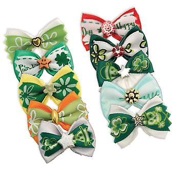Groom Professional Pack of 100 St. Patricks Day Bows