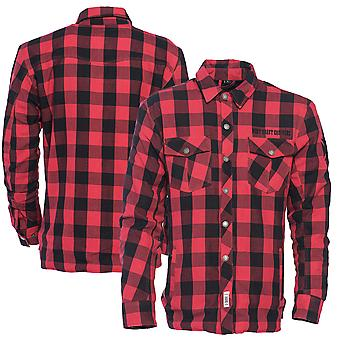 West Coast choppers mens long-sleeve shirt Dominator riding flannel