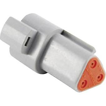 Amphenol AT04 3P Bullet connector Plug, straight Series (connectors): AT Total number of pins: 3 1 pc(s)