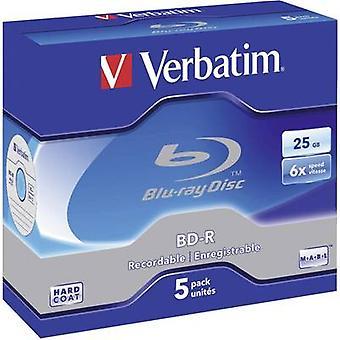 Verbatim 43715 blank Blu-ray BD-R 25 GB 5 PC (s) ozdobna walizka