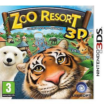 Zoo Resort 3D (Nintendo 3DS) - New