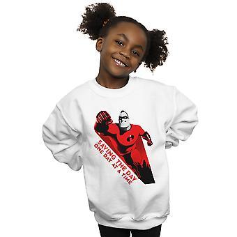 Disney Girls The Incredibles Saving The Day Sweatshirt