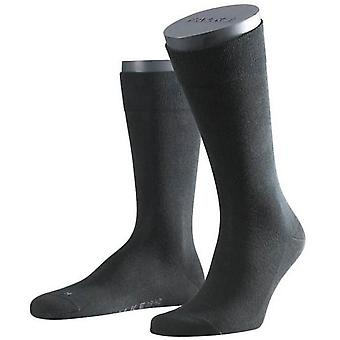 Falke herkkä Lontoo Midcalf sukat - musta
