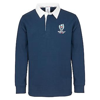 Rugby World Cup 2019 Kids' Long Sleeve Classic Rugby Shirt