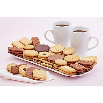 Gamma di paese dolce assortiti biscotti