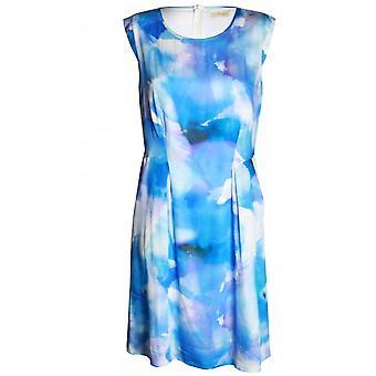 Vera Mont ärmellose Wasser Farbe Design Kleid
