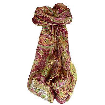 Amoreira cachecol longo tradicional Rajeet Rose por Pashmina & seda
