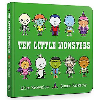 Ten Little Monsters - Board Book by Mike Brownlow - 9781408346488 Book