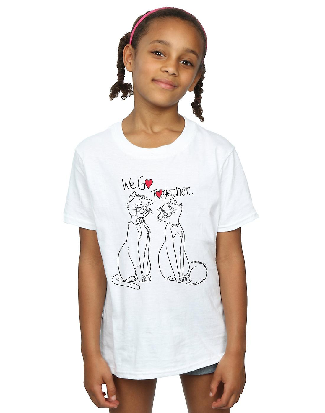 Disney Girls Aristocats We Go Together T-Shirt