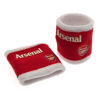 Arsenal FC Official Wristbands (Set Of 2)