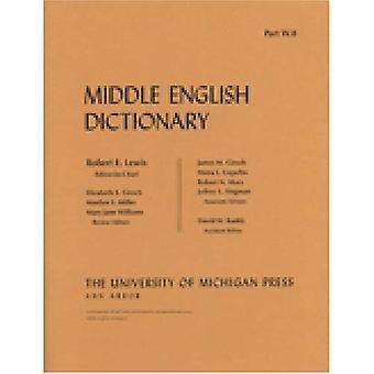 Middle English Dictionary: W.8 (Midden Engels woordenboek)
