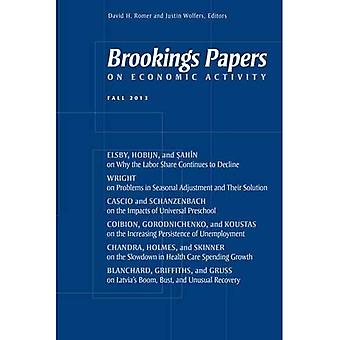 Brookings Papers on Economic Activity: Fall 2013
