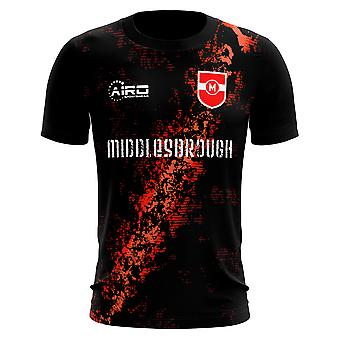 2019-2020 Middlesbrough Terzo Concetto Calcio Camicia - Piccoli Ragazzi
