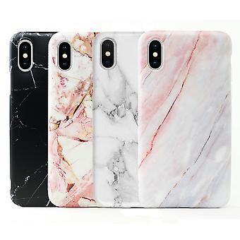 iPhone XR | Soft Marble Case, Many colors!