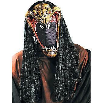 Viper maske med netto ansikt For Halloween