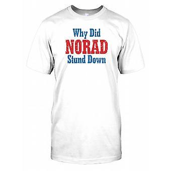 Dlaczego Norad usiąść męskie T Shirt
