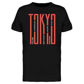 Tokyo Travel Sites T-Shirt Herren-Bild von Shutterstock
