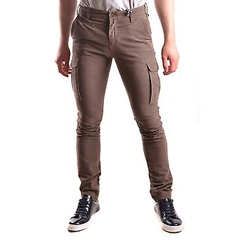 At.p.co Ezbc043055 Men's Brown Cotton Pants