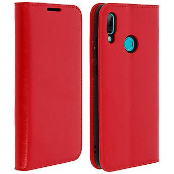 Business leather book case for Huawei P Smart 2019 / Honor 10 Lite - Red