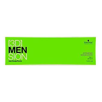 Schwarzkopf Professional [3D] Mension Men Stimulating Serum (7x10ml)