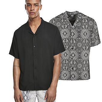 الكلاسيكية الحضرية - فيسكوز منتجع قميص الصيف