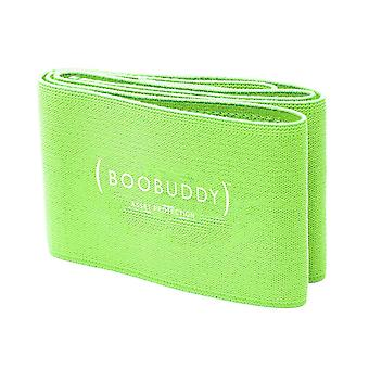 Boobuddy breast support band – green