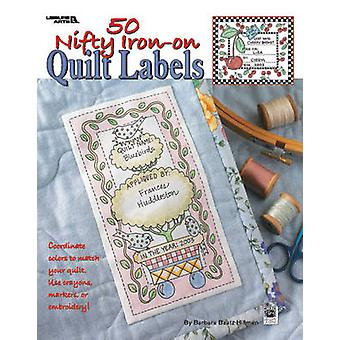 50 Nifty Iron-on Quilt Labels by Kooler Design Studio - 9781601407368