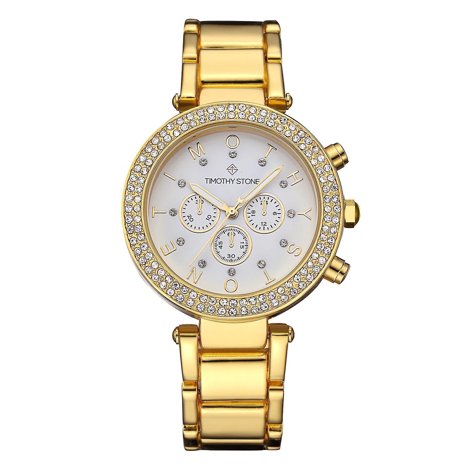 Timothy Stone Women's D�SIRE-STAINLESS Gold-Tone Watch