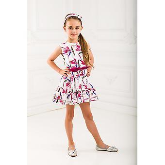 Floreale bianco girl dress