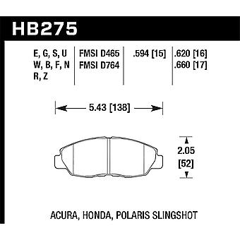 Hawk Performance HB275G.620 DTC-60