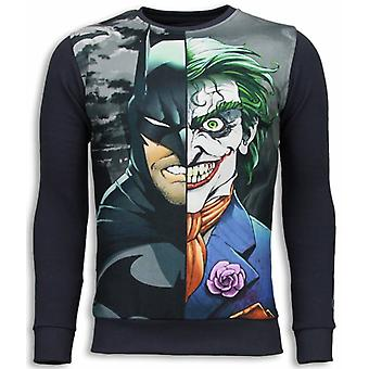 Bad Joker-Sweatshirt-mörkgrå