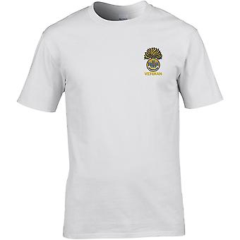 Royal Inniskilling Fusiliers WW1 Veteran - Licensed British Army Embroidered Premium T-Shirt