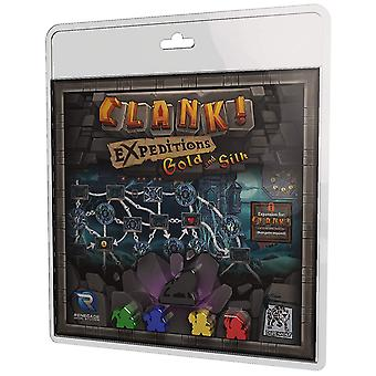 Clank Expeditions Gold and Silk Board Game