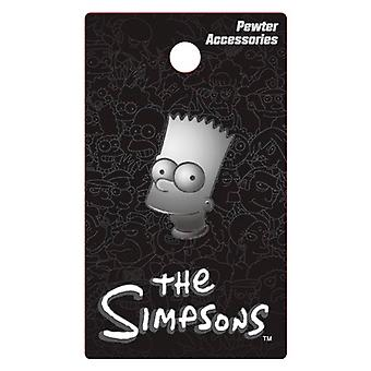 Pin - Simpsons - Bart Pewter Lapel New Toys Licensed 27824