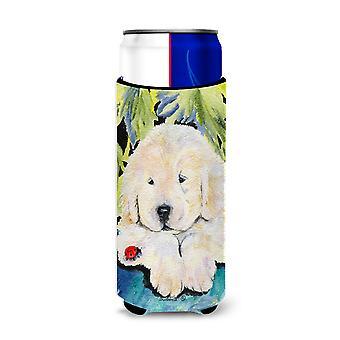 Golden Retriever Ultra bebidas aisladores para latas de slim SS8271MUK