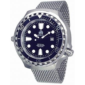Tauchmeister Xxl Automatic dive watch T0254mil 1000 M