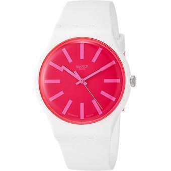 Montre Swatch Strawbeon Unisex Watch SUOW162
