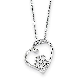 925 Sterling Zilver gepolijst Gift Boxed Spring Ring Rhodium verguld CZ Cubic Zirconia Gesimuleerde Diamond Mijn speciale nichtje