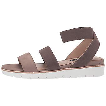Steven by Steve Madden Womens Gambel Leather Open Toe Casual Ankle Strap Sand...