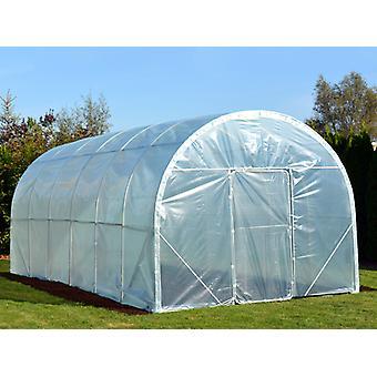 Polytunnel Greenhouse 120, 3x6x 2.4 m, 18 m², läpinäkyvä