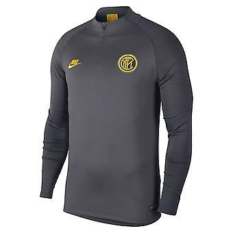 2019-2020 Inter Milan Nike Drill Training Top (Grey)