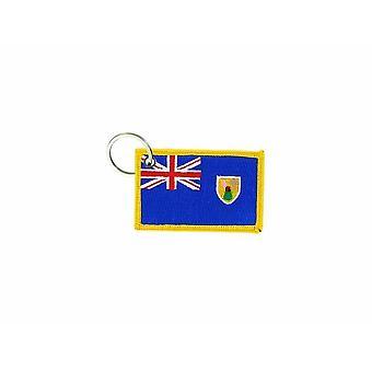 Porte cles clefs voiture moto bande tissu drapeau maison tuning turquie