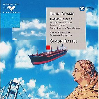 Simon Rattle - Adams: Harmonielehre; the Chairman Dances; Two Fanfares [CD] USA import