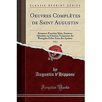 Oeuvres Compltes de Saint Augustin, vol. 6